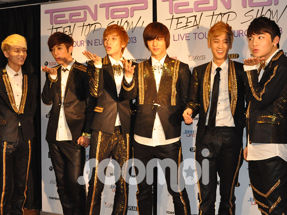 [Photos] Teen Top's Press Conference in Paris