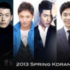 2013 Spring Kdrama Lineup
