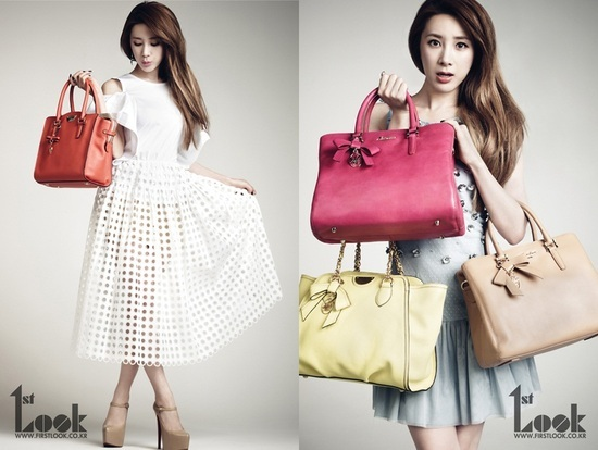 "Seo In Young Looking Feminine And Chic For ""1st Look"""