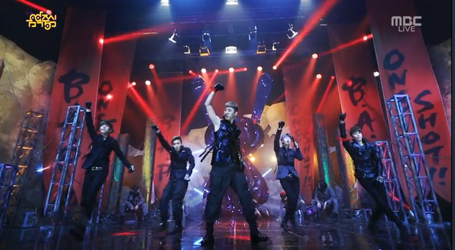 """B.A.P Makes Their """"One Shot"""" Comeback on Music Core"""