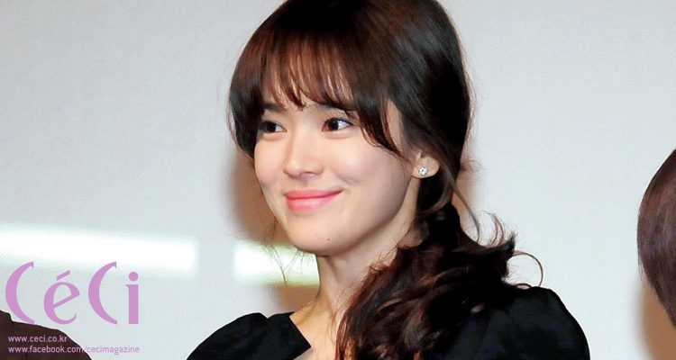 [Ceci] How To Achieve Song Hye Gyo's See-Through Bangs!