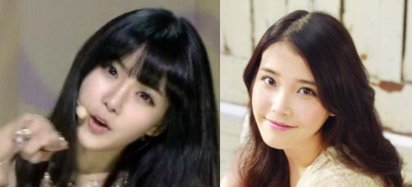 "Rainbow's Cho Hyun Young Looks Like IU During ""Inkigayo"" Comeback Performance"