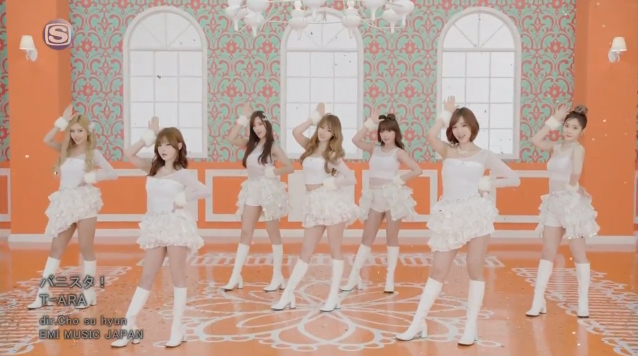 "T-ara Reveals MV for New Japanese Single ""Bunny Style"""