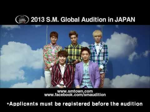 2013 S.M. GLOBAL AUDITION IN JAPAN Promotion Clip_SHINee Video Thumbnail