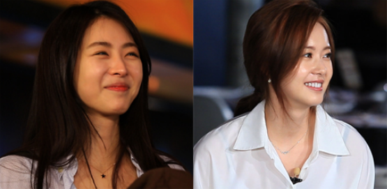 lee yeon hee and go ara running man1