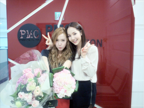 park min young and jessica twitter