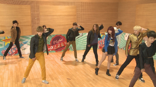 u-kiss dance class