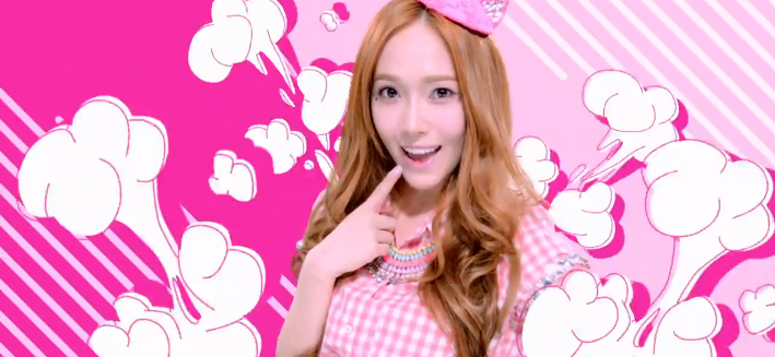 "Girls' Generation's Jessica Shares BTS Photos from ""Beep Beep"" Set"