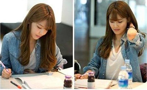 GG Sooyoung script reading 3
