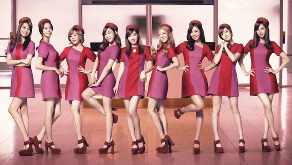 Girls Generation Girls and Peace