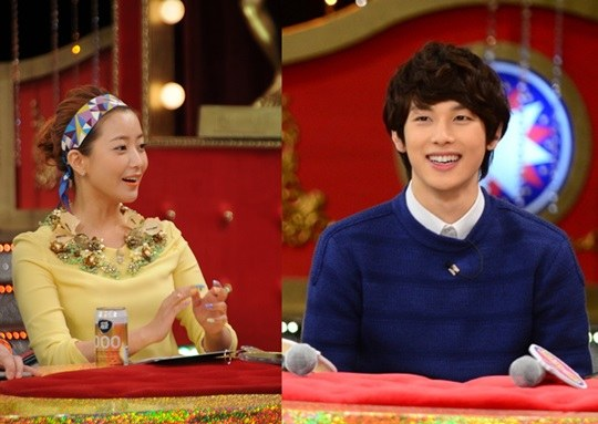 Kim Hee Sun and Im Siwan
