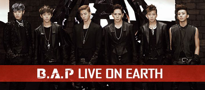 "B.A.P Announces Four US Locations for ""Live On Earth Pacific Tour"""