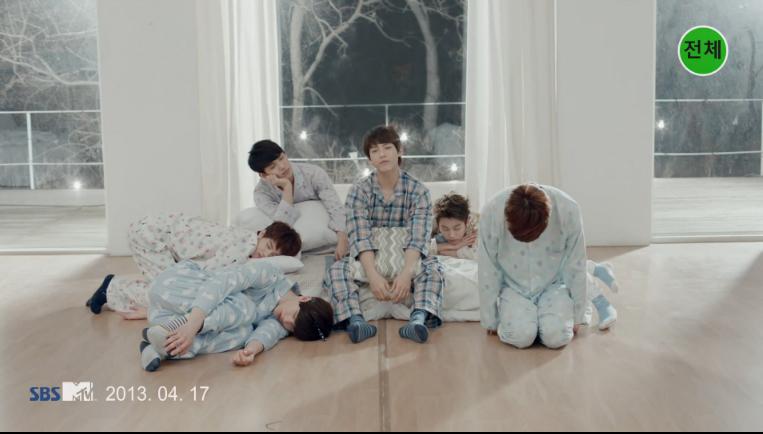 "BTOB Releases Cute Pajama Ver. MV for ""Second Confession"""
