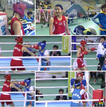 Actress Lee Si Young Makes National Boxing Team