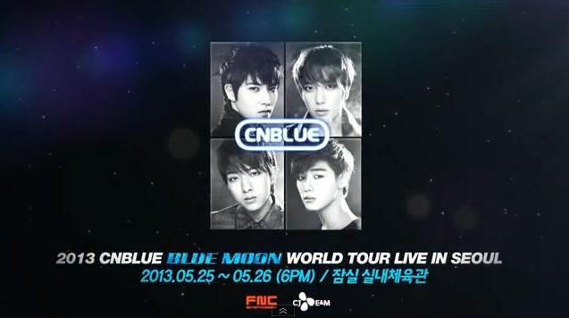 CNBlue Blue Moon in Seoul