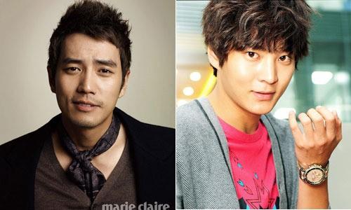Joo Won and Joo Sang Wook