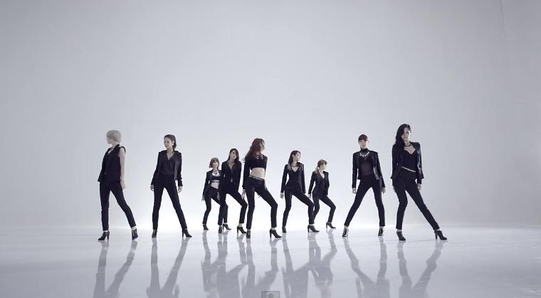 Nine Muses Wild Dance Version