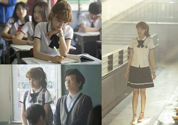 Girls' Generation Looks Beautiful in a School Uniform!