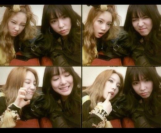 Tiffany and Taeyeong