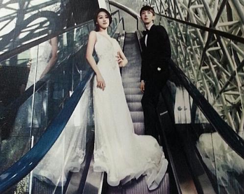 jo kwon oh seung ah wedding1