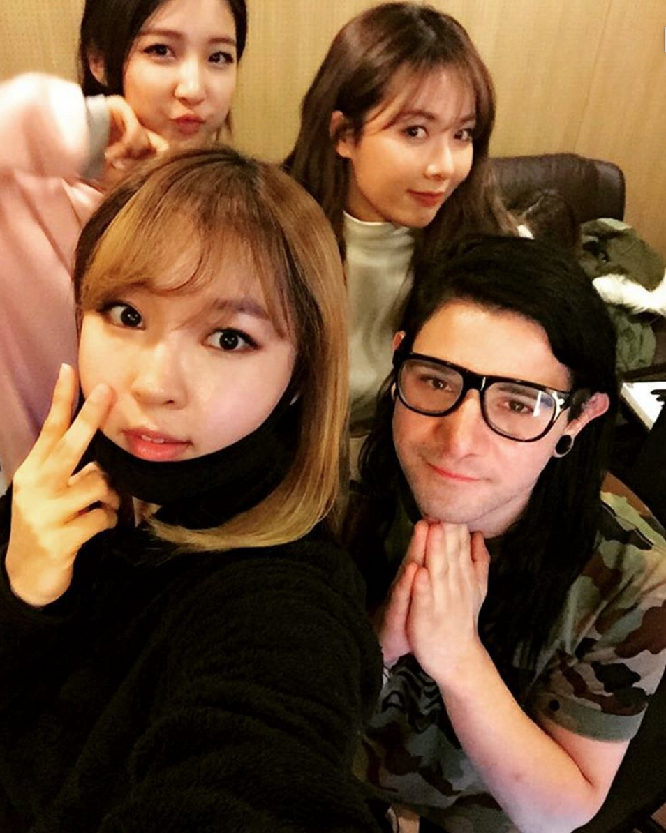 4Minute Joins Forces With Skrillex for Early 2016 Comeback