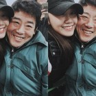 "A Pink's Jung Eun Ji Visits Her ""Reply 1997″ Dad, Sung Dong Il"
