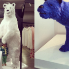 Peek Into Uhm Ji On's Adorable and Innocent Day Posing With Polar Bears
