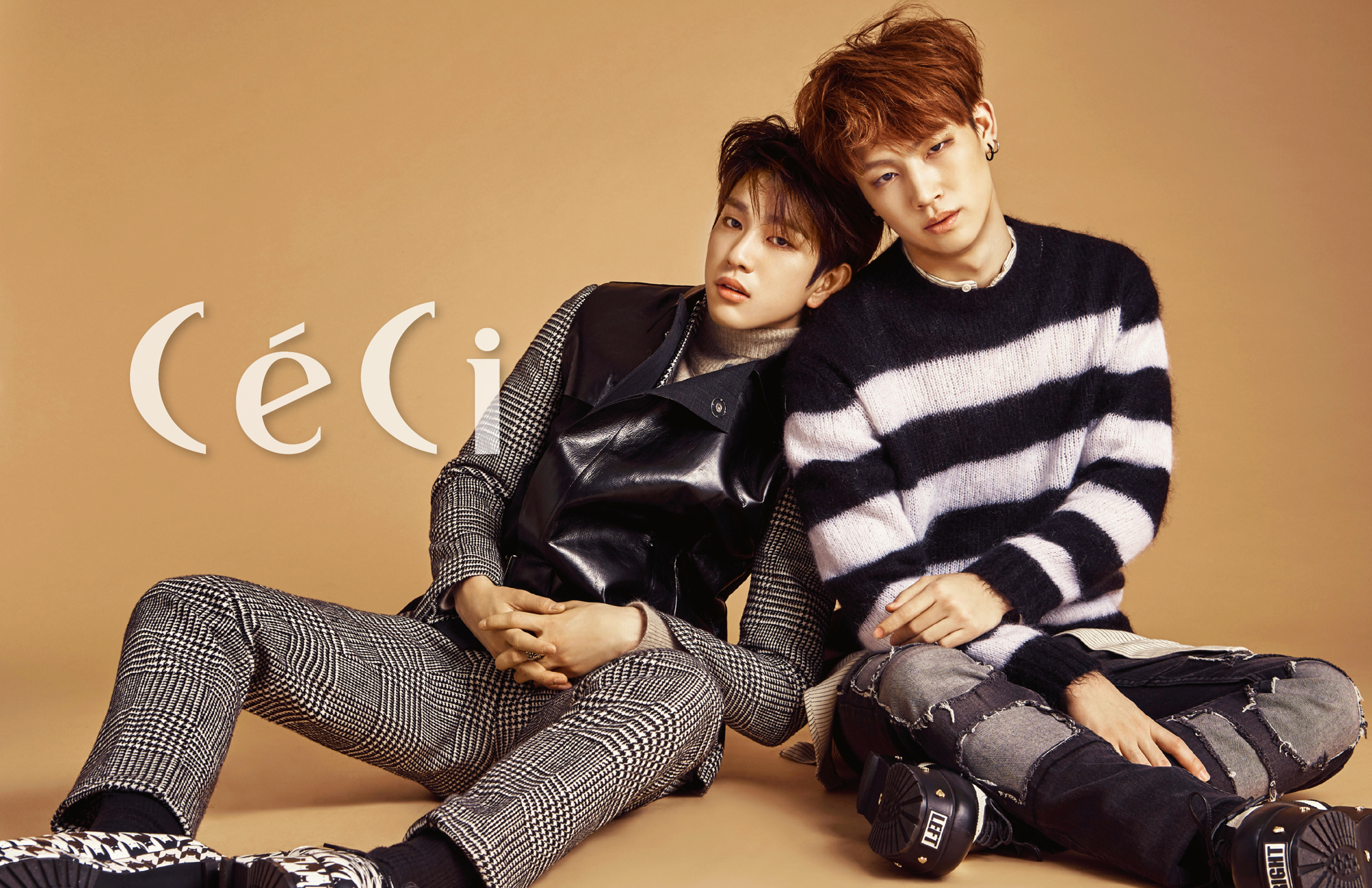 GOT7's JB and Junior Pair Up as a Hot Duo for CeCi | Soompi