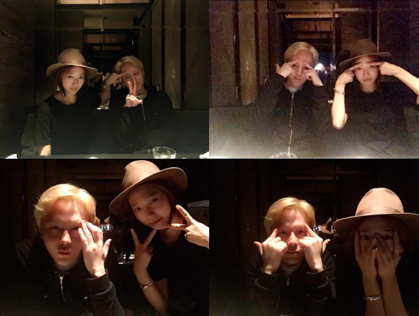 Park Shin Hye and BEASTs Junhyung Have Playful Reunion
