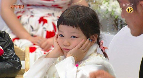 The Children of The Return of Superman Are Bored with the KBS Entertainment Awards