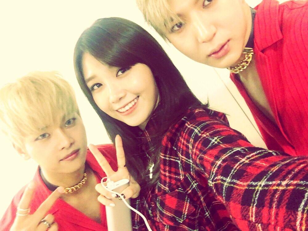 A Pink's Eunji Reunites With VIXX's N and Leo