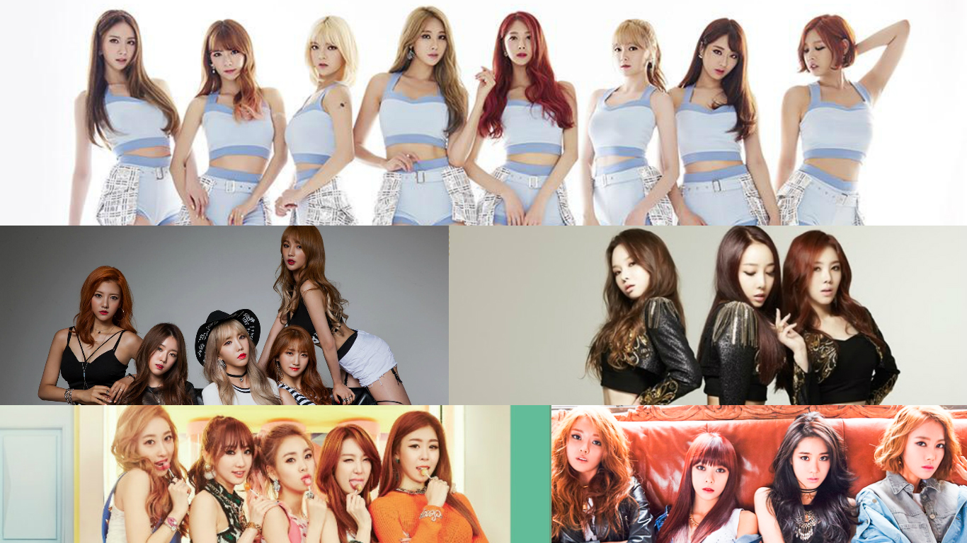 Girl Group Releases 2015