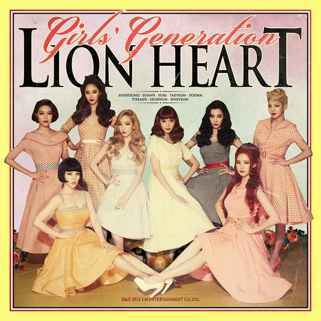 girls generation lion heart