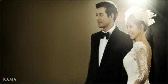 Oh Ji Ho and wife