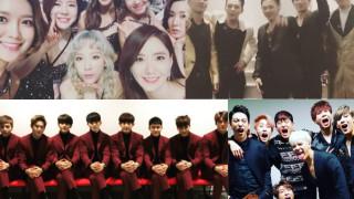 Girls Generation BIGBANG EXO GOT7