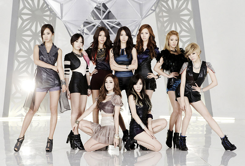 U.S. Cheerleading Squad Dances to Girls Generations The Boys
