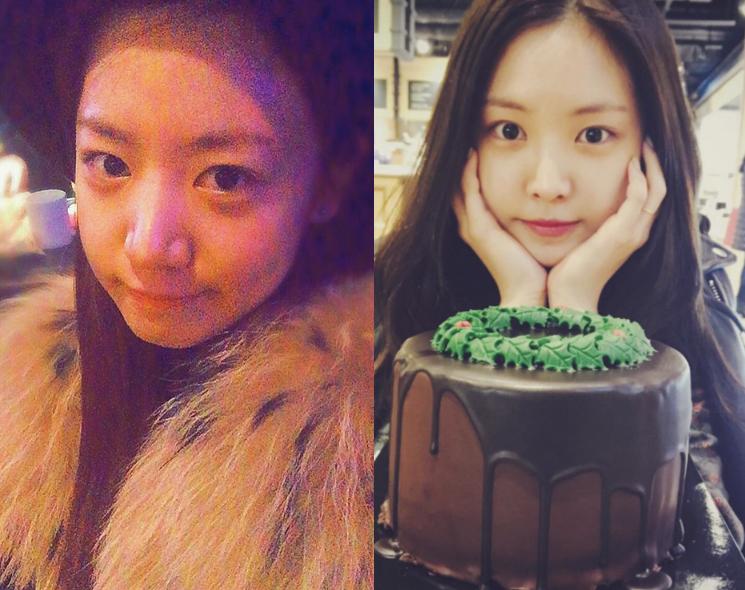 A Pink's Namjoo and Son Naeun Join Instagram