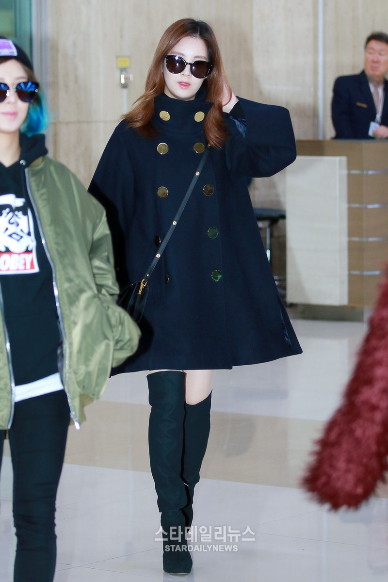 160111 seohyun airport