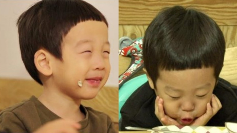 Seo Eon and Seo Jun Have Aegyo Struggle for Food on The Return of Superman