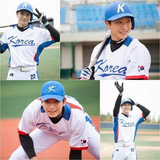 Jung Jinwoon Is a Charming Baseball Player in Madame Antoine Stills