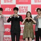 "Exclusive: Han Ye Seul and Sung Joon Melt Hearts at ""Madame Antoine"" Press Conference"