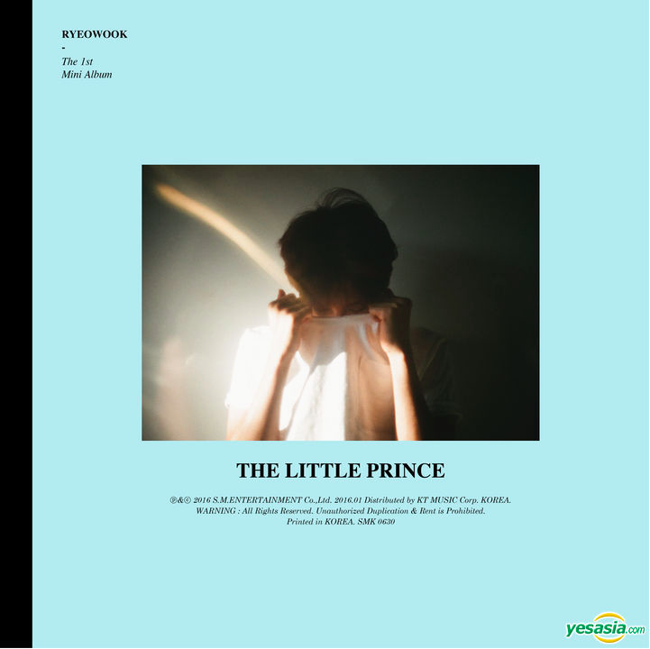 ryeowook the little prince album art