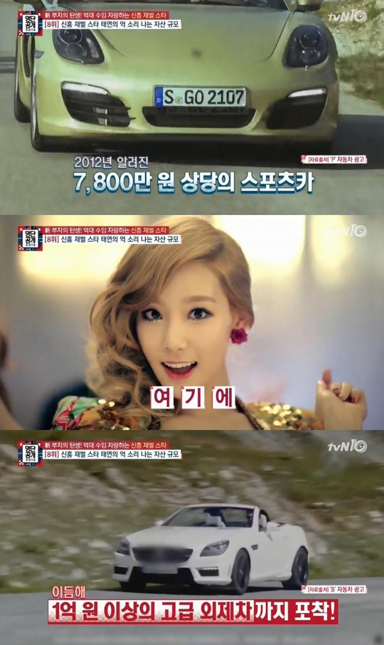 Girls Generation Taeyeon Places in the List of Newly Rising Chaebol Stars