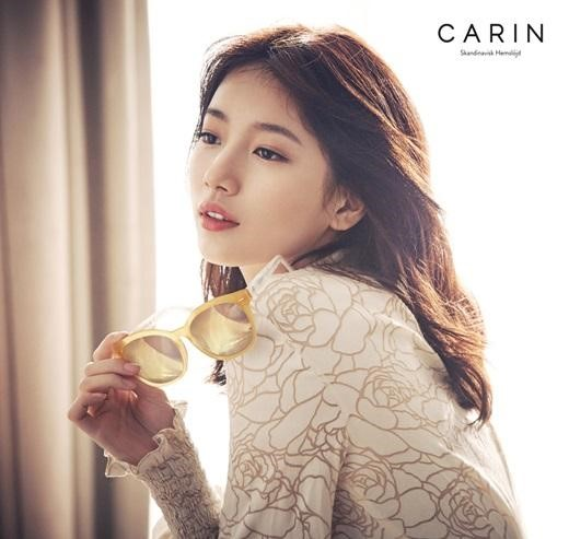 Suzy Embodies Chic in Her First Eyewear Campaign