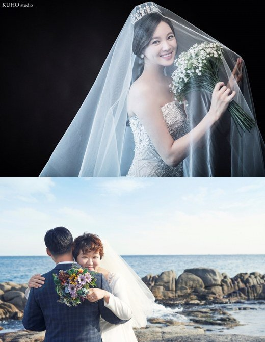 Actresses Jung Ga Eun and Ha Jae Sook Get Married Today