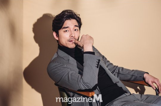 Gong Yoo Exhibits His Thoughts About His Upcoming Movie in Magazine M