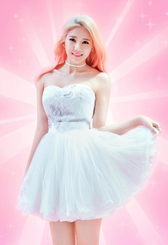 AOA Cream Hyejeong