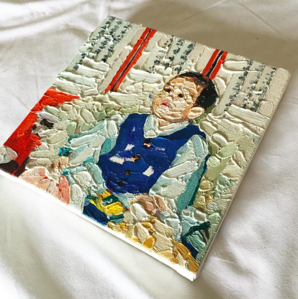 top baby photo canvas