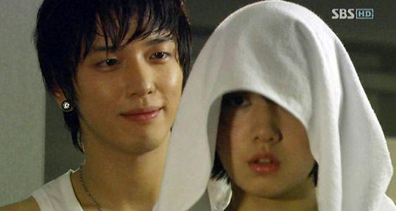 Jung Yong Hwa and Park Shin Hye (1)