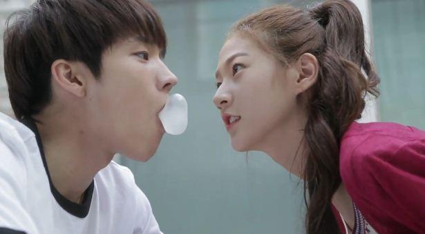 Nam Woo-hyun and Kim Sae Ron